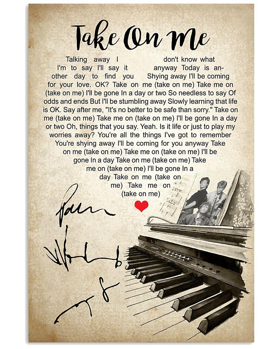Take On Me 24x36 Poster