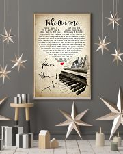 Take On Me 24x36 Poster lifestyle-holiday-poster-1