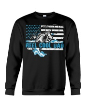 Reel cool dad Crewneck Sweatshirt thumbnail