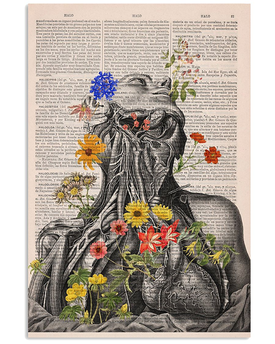 neck and lung anatomy 24x36 Poster