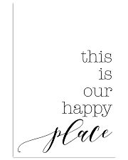 This is our happy place 24x36 Poster front