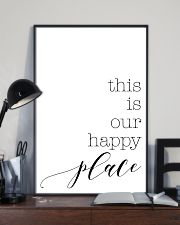 This is our happy place 24x36 Poster lifestyle-poster-2