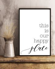 This is our happy place 24x36 Poster lifestyle-poster-3