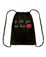 If Solo Por Un Beso Drawstring Bag thumbnail