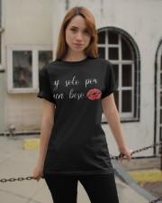 If Solo Por Un Beso Classic T-Shirt apparel-classic-tshirt-lifestyle-19