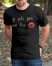 If Solo Por Un Beso Classic T-Shirt apparel-classic-tshirt-lifestyle-front-52