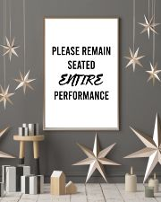 Please reman seated entire performance 24x36 Poster lifestyle-holiday-poster-1
