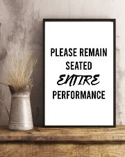 Please reman seated entire performance 24x36 Poster lifestyle-poster-3