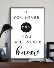 if you never try you will never know 2 24x36 Poster lifestyle-poster-2