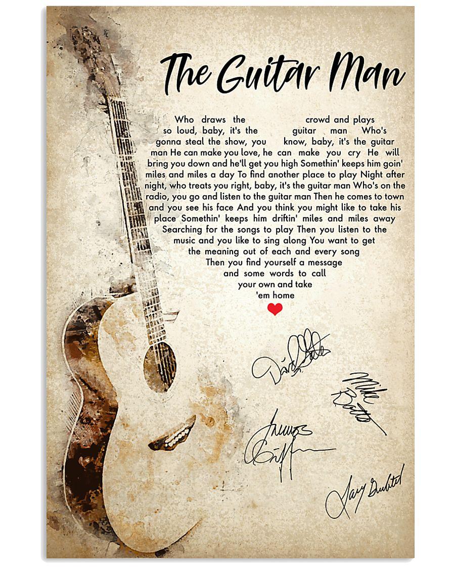 The Guitar Man 24x36 Poster