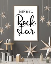 potty like a rock star 24x36 Poster lifestyle-holiday-poster-1