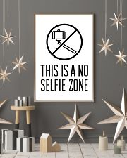 this is a no selfie zone 24x36 Poster lifestyle-holiday-poster-1