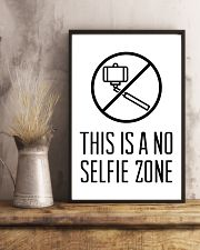 this is a no selfie zone 24x36 Poster lifestyle-poster-3