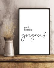 good morning gorgeous 24x36 Poster lifestyle-poster-3