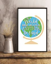 In a world where you can be anything be kind 24x36 Poster lifestyle-poster-3