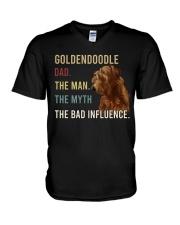 Goldendoodle Dad The man V-Neck T-Shirt thumbnail