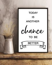 today is another chance to be better 11x17 Poster lifestyle-poster-3