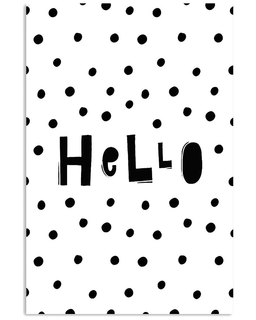 Hello 24x36 Poster