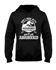 Don't mess with papasaurus Hooded Sweatshirt tile