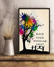 Wash your worries away 24x36 Poster lifestyle-poster-3
