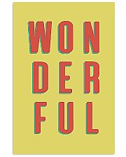 WONDERFUL 24x36 Poster front
