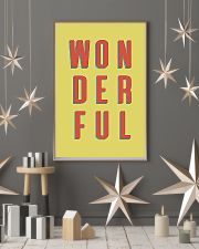 WONDERFUL 24x36 Poster lifestyle-holiday-poster-1