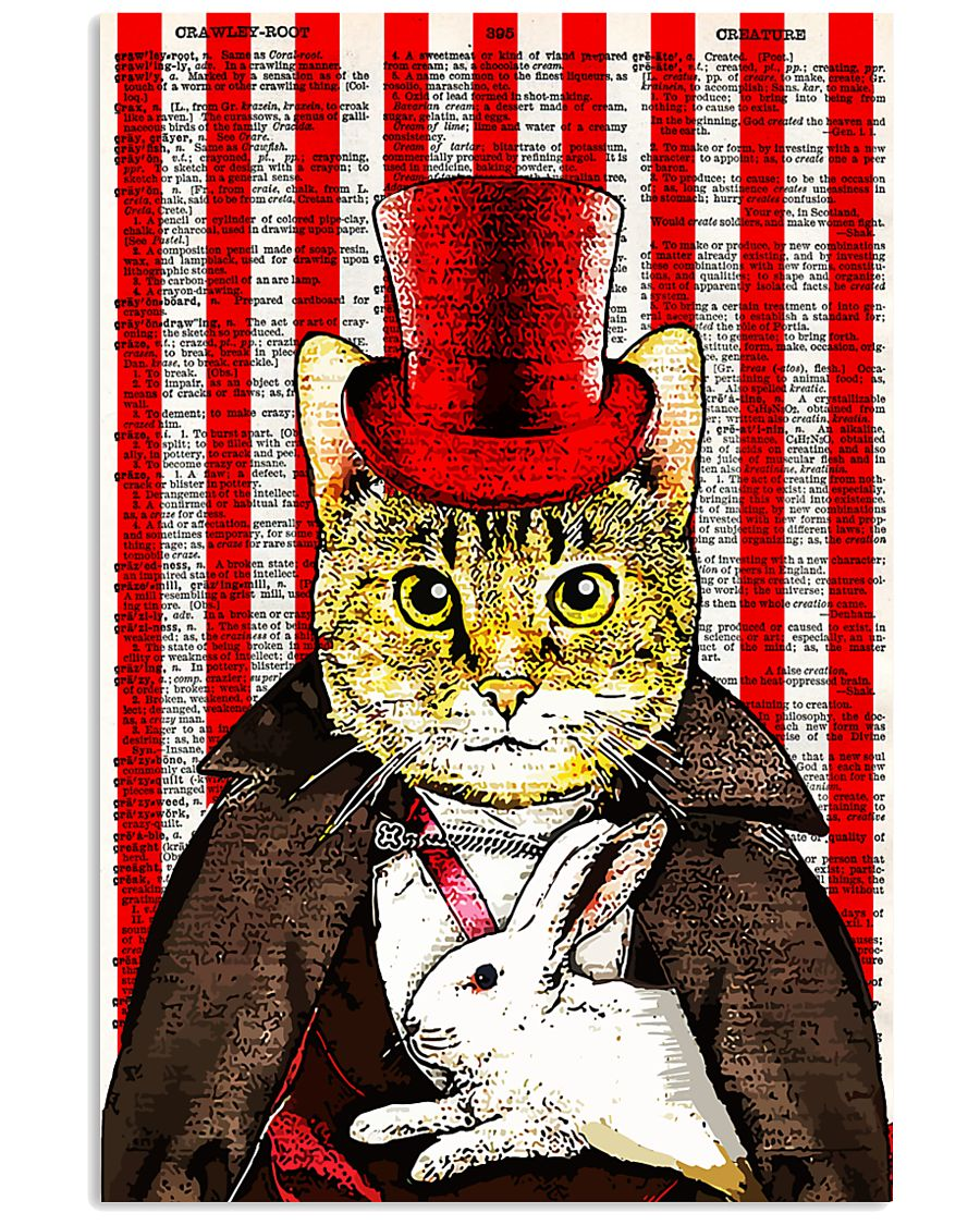 Magic Cat 24x36 Poster