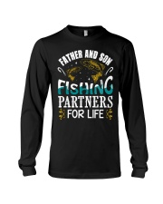 Father and son fishing Long Sleeve Tee thumbnail