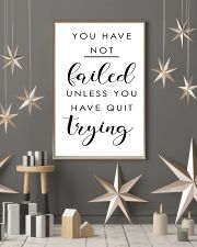 you have not failed unless you have quit trying 11x17 Poster lifestyle-holiday-poster-1