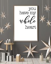 YOU HAVE MY WHOLE HEART 24x36 Poster lifestyle-holiday-poster-1