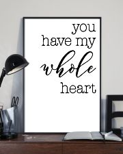 YOU HAVE MY WHOLE HEART 24x36 Poster lifestyle-poster-2