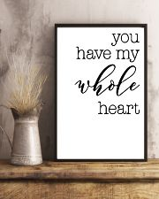 YOU HAVE MY WHOLE HEART 24x36 Poster lifestyle-poster-3