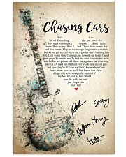 Chasing Cars 24x36 Poster front