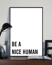 Be A Nice Human 24x36 Poster lifestyle-poster-2