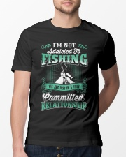 fishing we are just in a very relationship Classic T-Shirt lifestyle-mens-crewneck-front-13