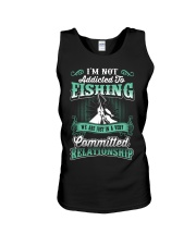fishing we are just in a very relationship Unisex Tank thumbnail