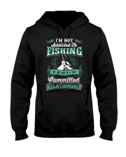 fishing we are just in a very relationship Hooded Sweatshirt thumbnail