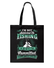 fishing we are just in a very relationship Tote Bag thumbnail
