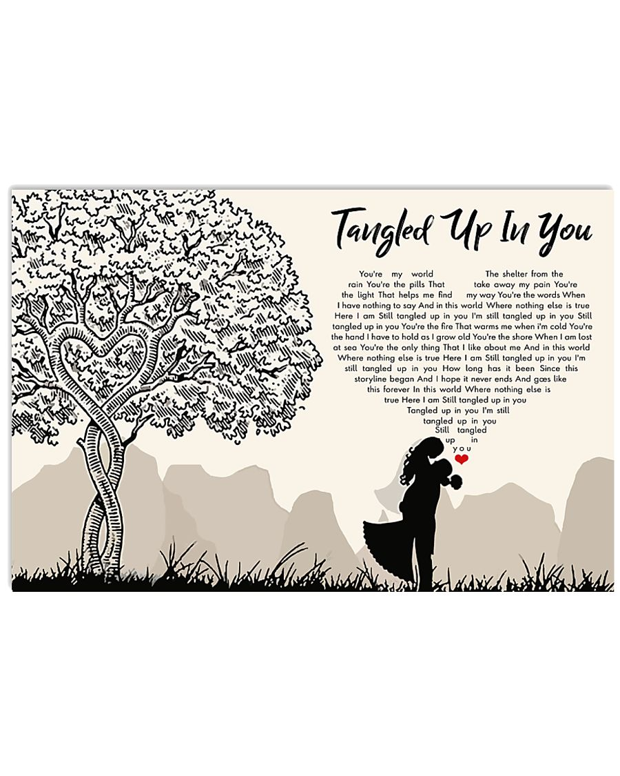Tangled Up In You 36x24 Poster