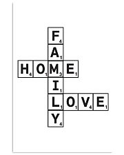 Family Decor 24x36 Poster front