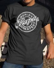 World's papa greatest Classic T-Shirt apparel-classic-tshirt-lifestyle-28
