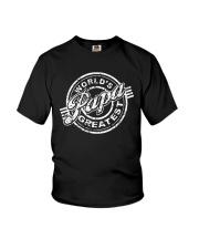 World's papa greatest Youth T-Shirt thumbnail