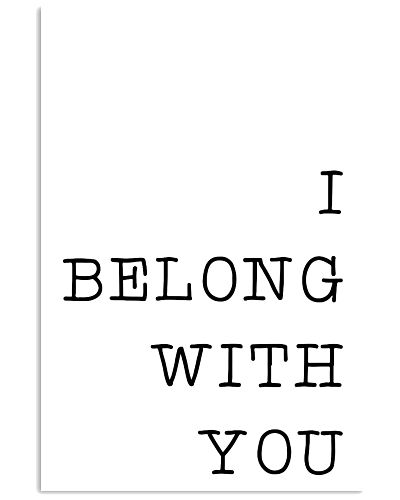 I belong with you