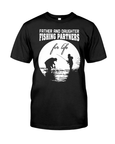 Father and Daughter Fishing partners