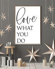 Love What You Do 24x36 Poster lifestyle-holiday-poster-1