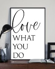 Love What You Do 24x36 Poster lifestyle-poster-2