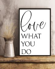 Love What You Do 24x36 Poster lifestyle-poster-3
