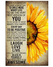 SUNFLOWER 24x36 Poster front
