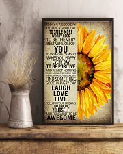 SUNFLOWER 24x36 Poster lifestyle-poster-3