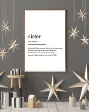 sister 24x36 Poster lifestyle-holiday-poster-1